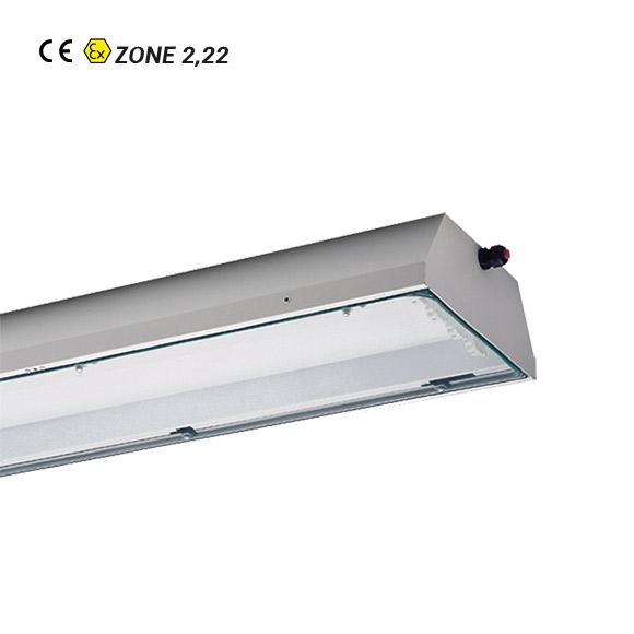 Luminaria Fluorescente ATEX nD181-nD182