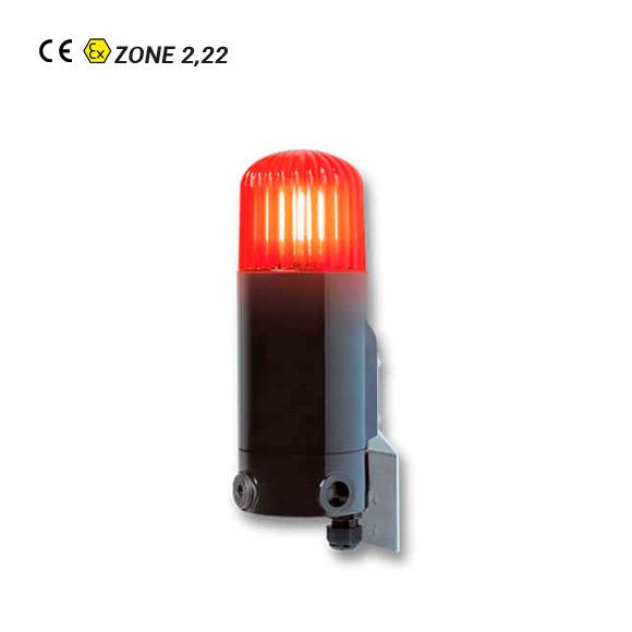 Lámpara de Señalización ATEX BZ2/BD22