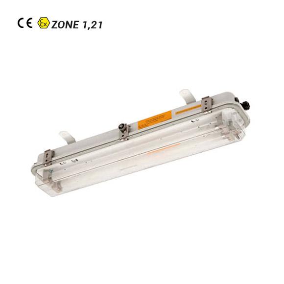 Luminaria Fluorescente ATEX EXP 83