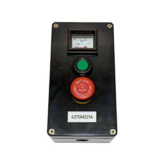 Botonera Amperimetro-Marcha-Seta de Emergencia ATEX