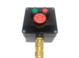 Botonera Compacta Marcha-Paro-Seta de Emergencia ATEX para Cable Armado