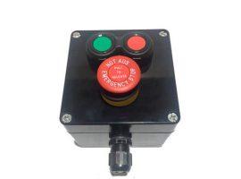 Botonera Compacta Marcha-Paro-Seta de Emergencia ATEX para Cable No Armado