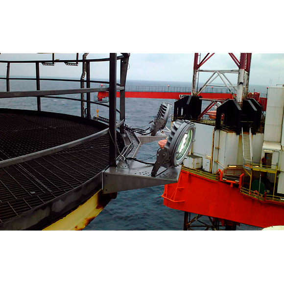 Instalación Off-Shore Proyector LED ATEX d9000
