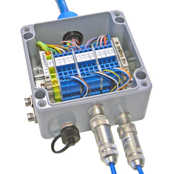 Ejemplo de Aplicación de los Conectores de Campo ATEX