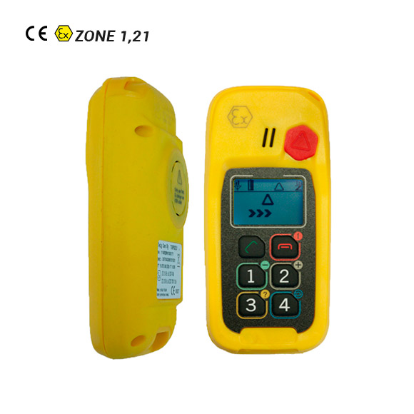 Teléfono GPS/GSM ATEX