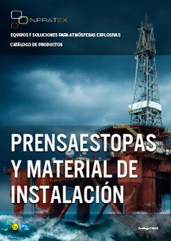 Inpratex - Catálogo Prensaestopas y Material de Instalación ATEX/IECEx 2021